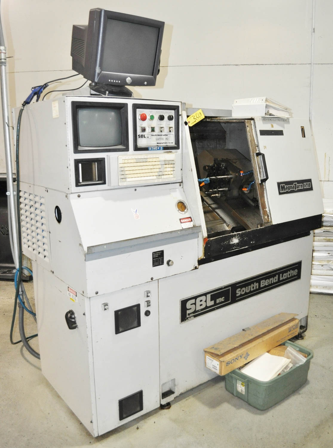 SOUTHBEND ''MAGNATURN 1218'' CNC LATHE, WITH 75-400 RPM, 1-5