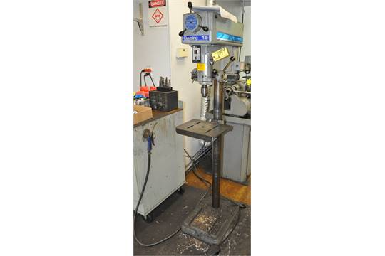13 39 39 clausing mdl 1670 floor type drill press vari speed for 13 floor drill press