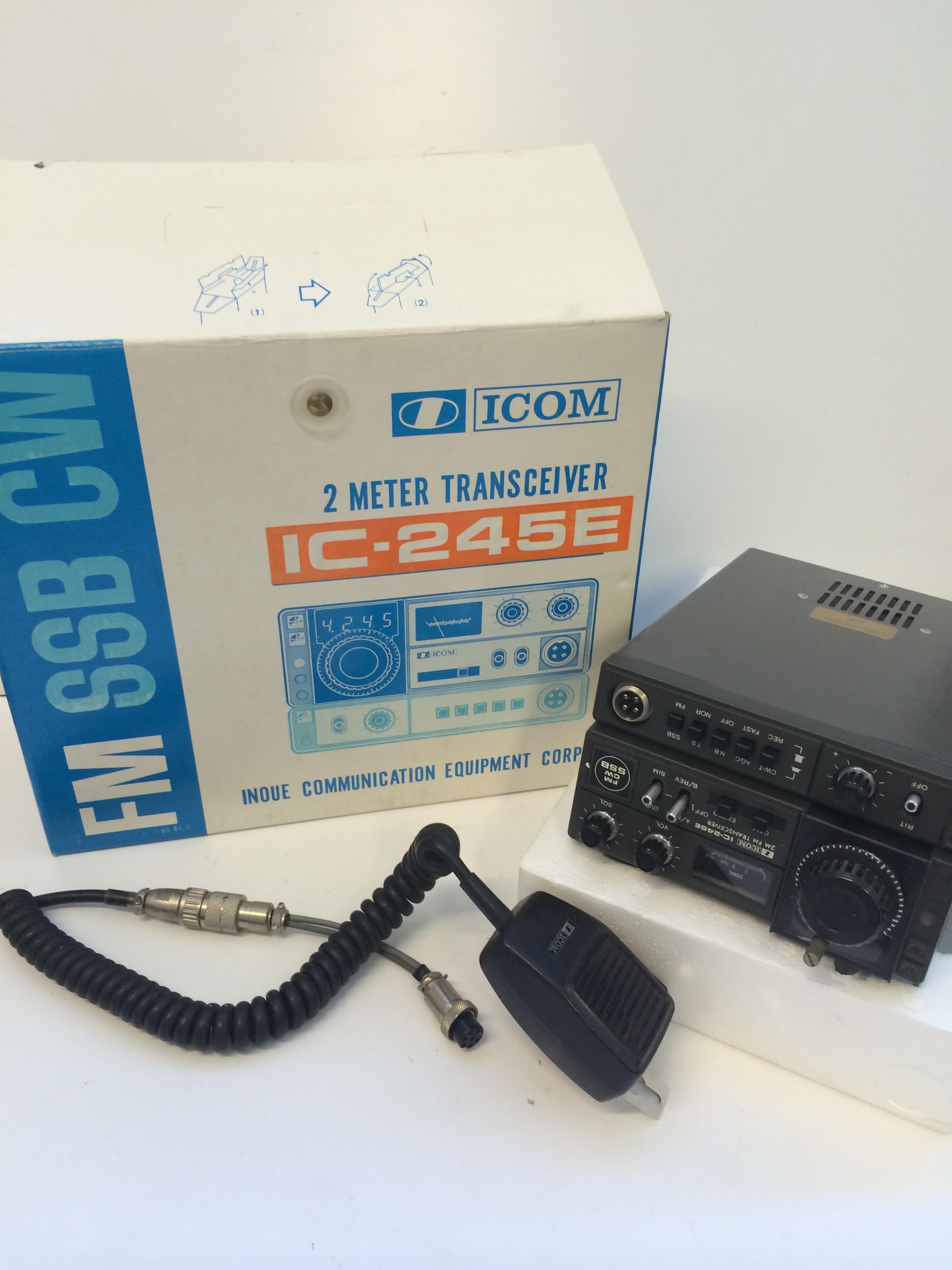 ICOM 2 Meter Transceiver IC-245E :