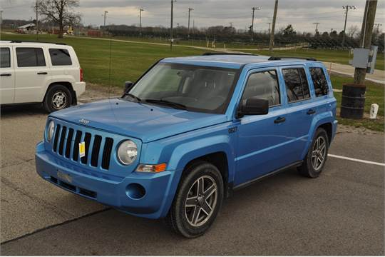 2008 Jeep Patriot 4x4 Auto Blue Power Window Power Door Locks 2 4 Liter 154 728 Miles Vin