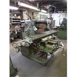 Kearney & Trecker Milwaukee Model H Horizontal Milling Machine, 74 in. x 15 in. (approx.) T-Slot