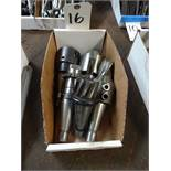 LOT: (5) Assorted Tool Holders