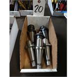 LOT: (6) Assorted Tool Holders