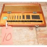 Mitutoyo Guage Block Set 516-935, Grade 3, s/n 951072