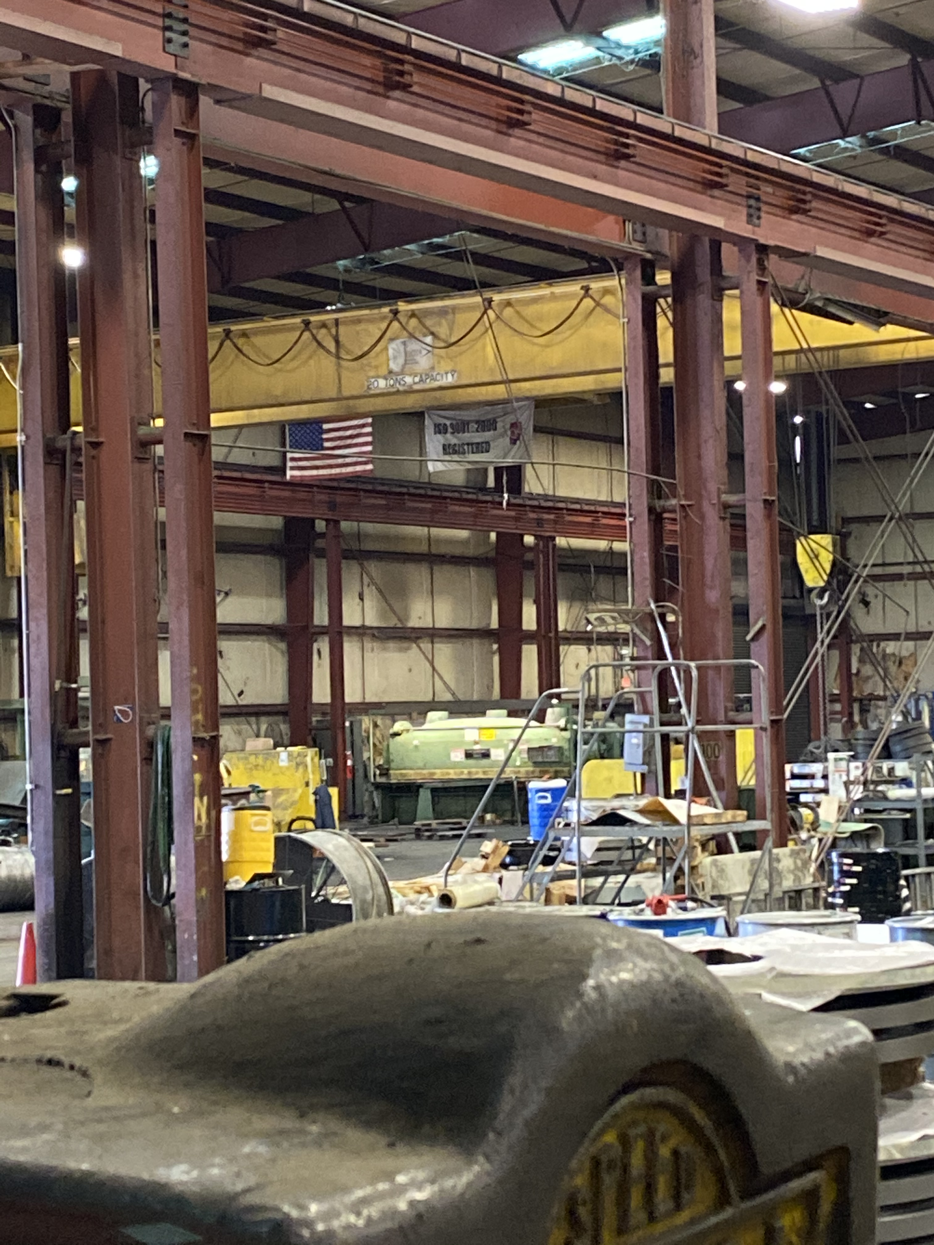 53,000 SQ. FT. Industrial Crane Building,3,000 SQ. FT. - Image 5 of 5