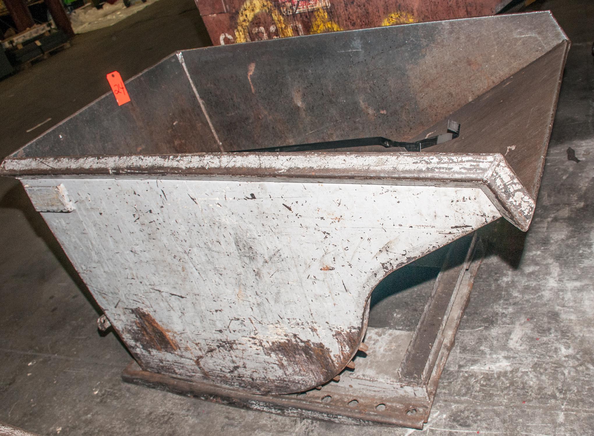 Dump Hopper 1 Cu Yd