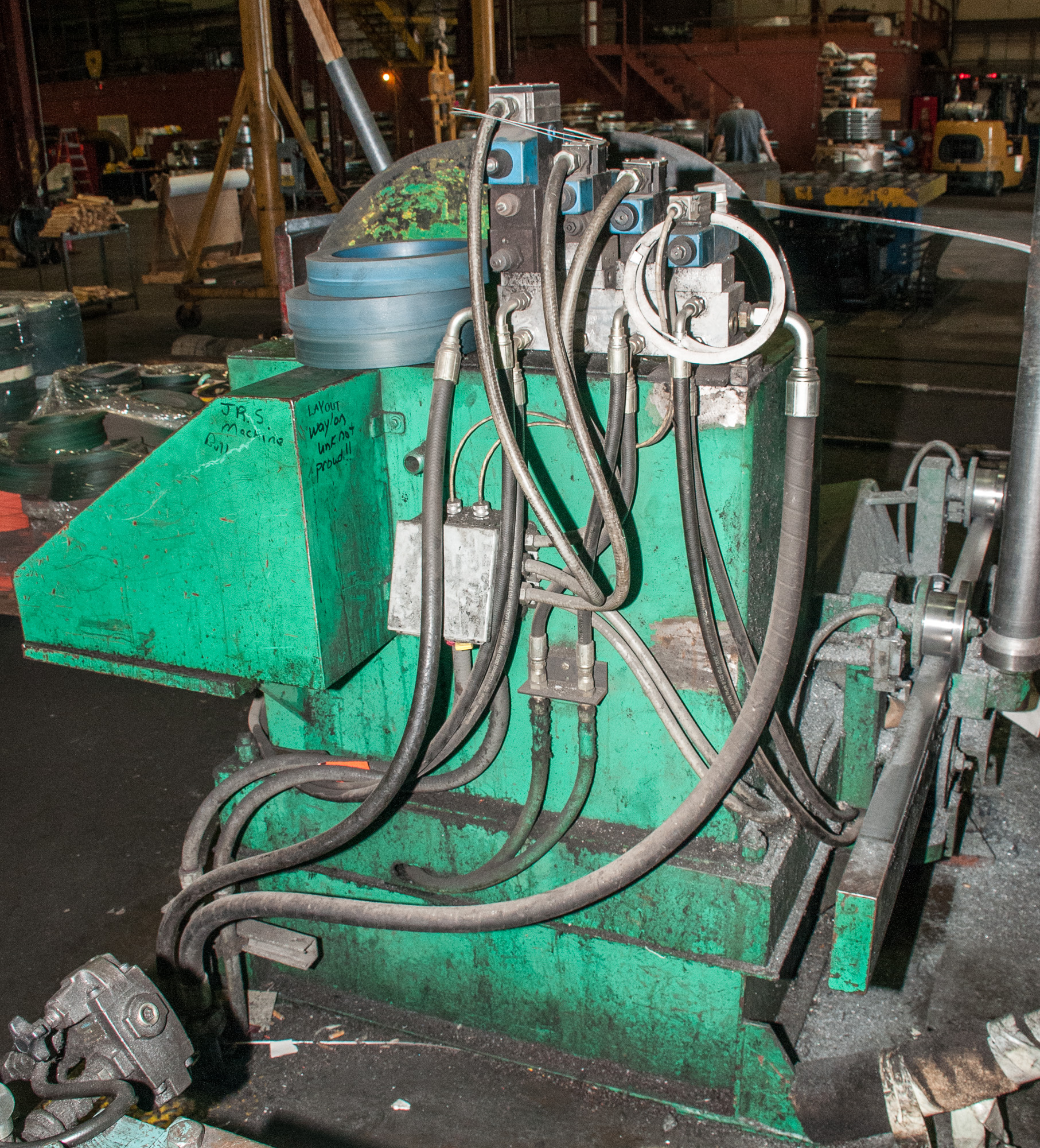 """60"""" x .125"""" 40,000lb. Yoder Slitting Line, New Controls 2019, Consisting of Coil Cart, Yoder Uncoile - Image 7 of 27"""