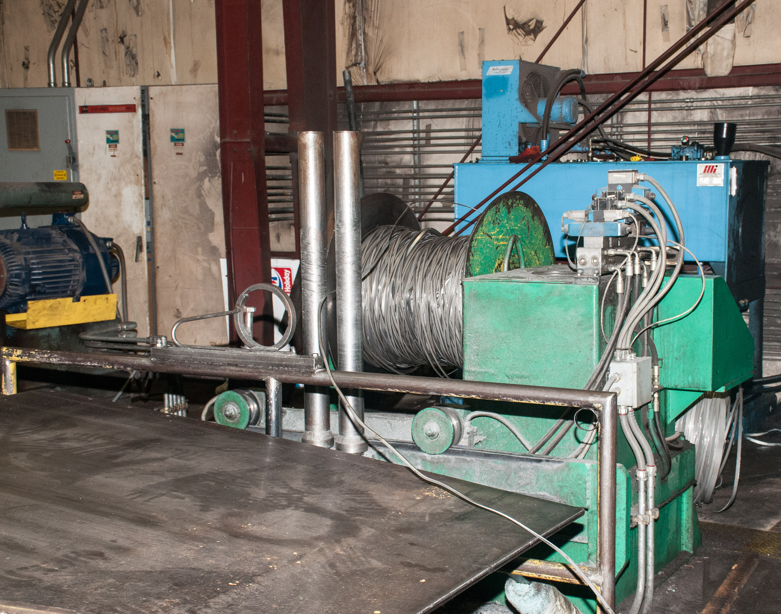 """60"""" x .125"""" 40,000lb. Yoder Slitting Line, New Controls 2019, Consisting of Coil Cart, Yoder Uncoile - Image 6 of 27"""