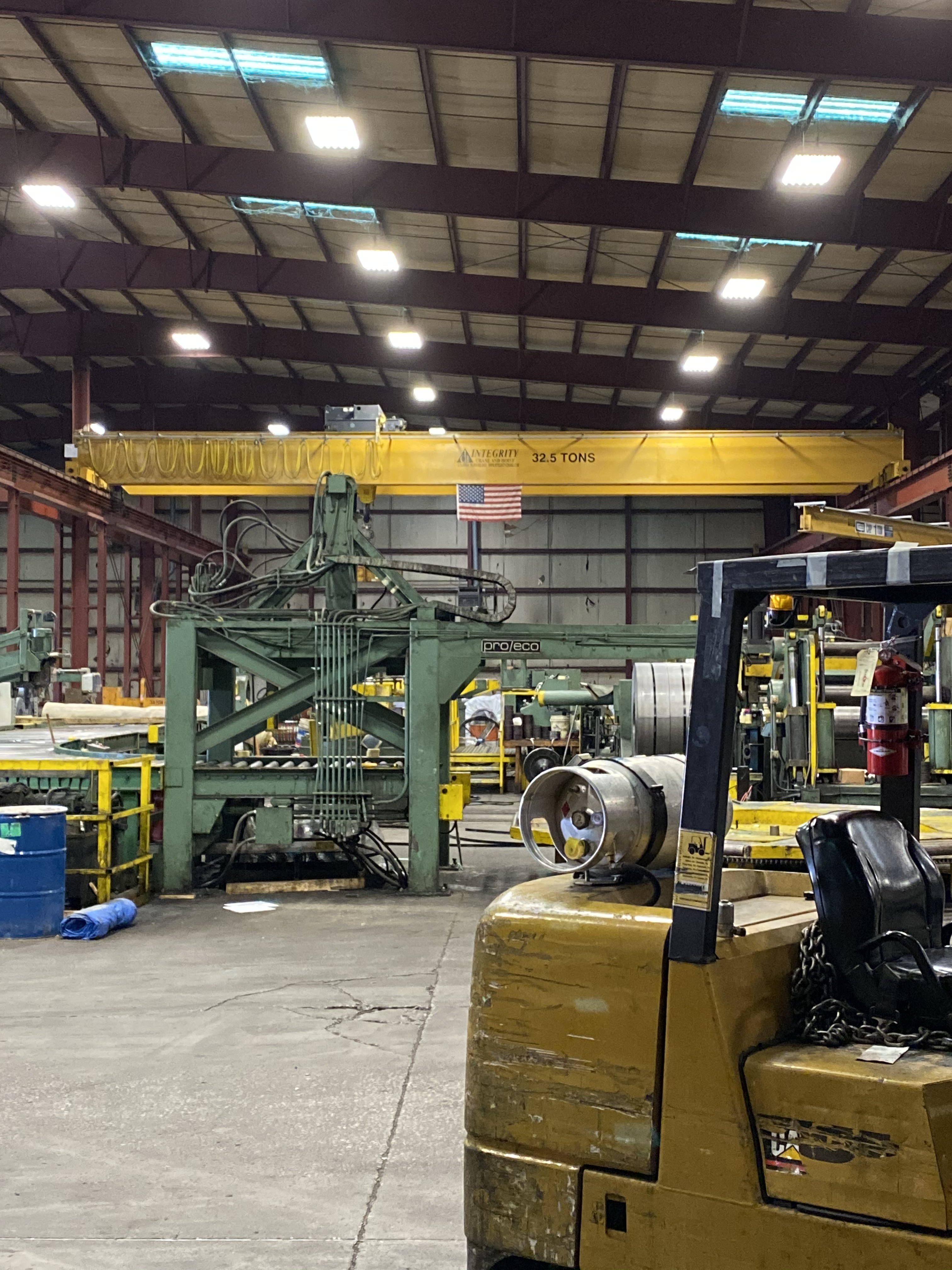 53,000 SQ. FT. Industrial Crane Building,3,000 SQ. FT. - Image 3 of 5