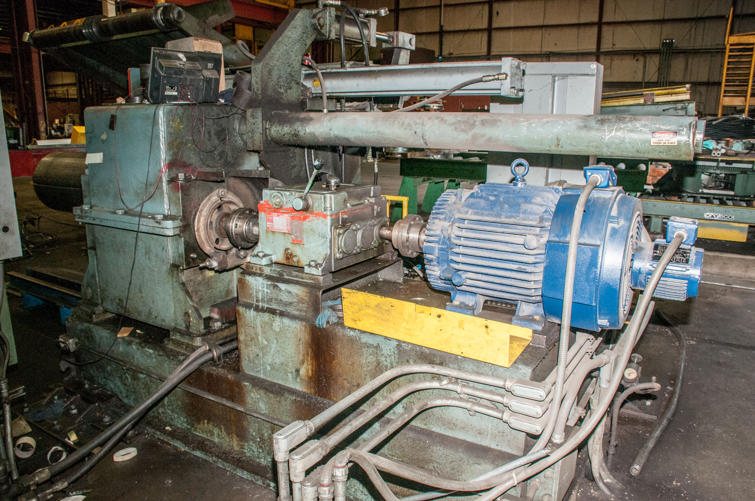 """60"""" x .125"""" 40,000lb. Yoder Slitting Line, New Controls 2019, Consisting of Coil Cart, Yoder Uncoile - Image 11 of 27"""