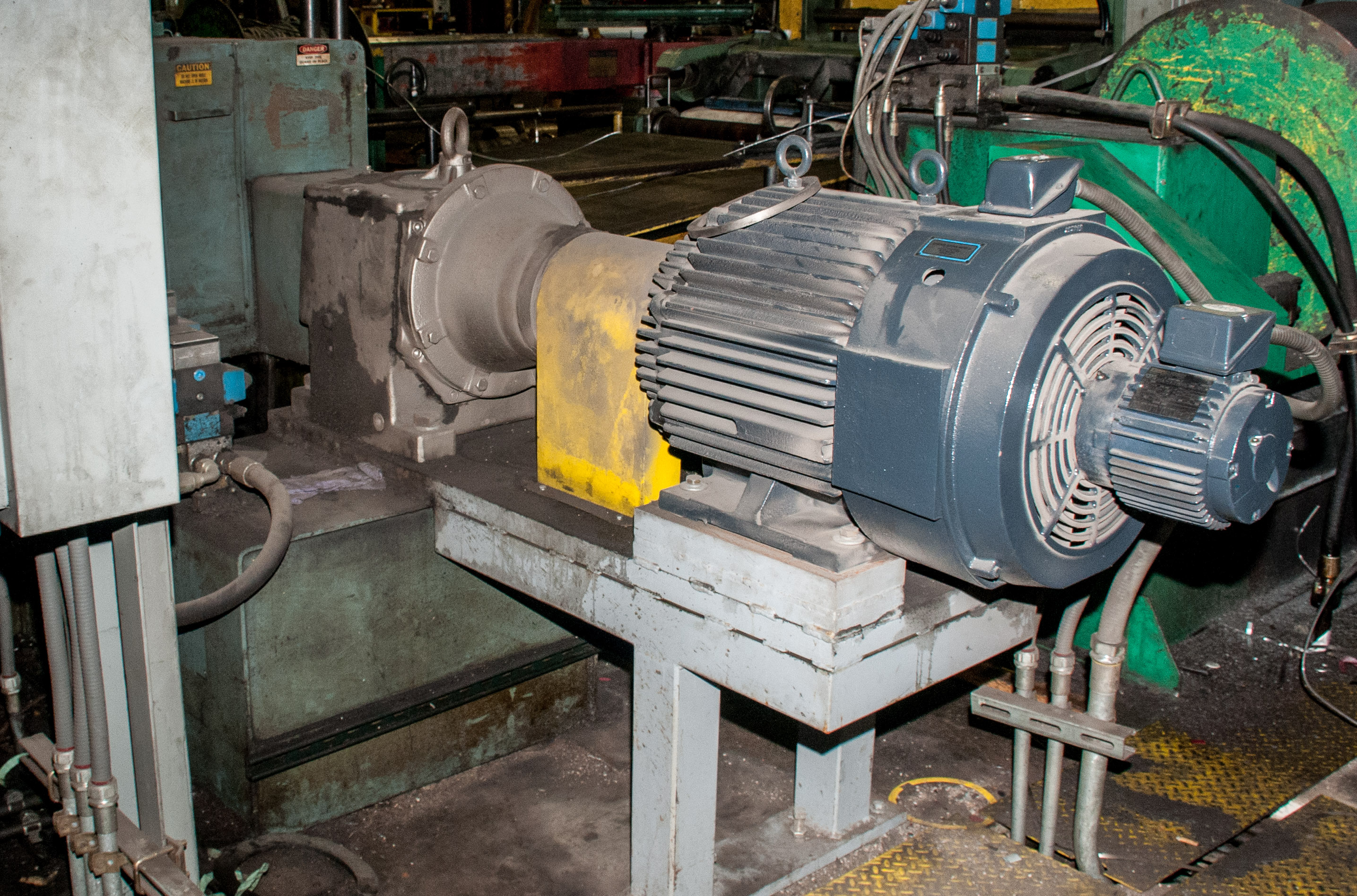"""60"""" x .125"""" 40,000lb. Yoder Slitting Line, New Controls 2019, Consisting of Coil Cart, Yoder Uncoile - Image 16 of 27"""
