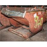 "Dum Hopper Approx 2 CU Yd Interior Dims Approx. 64 x 54 x 39"" deep"