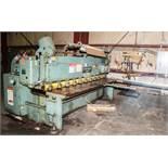 "10' x .135"" Cincinnati Mechanical Squaring Shear 1410 #36502, Pneumatic, 3/16 Mild Steel Cap. w/"