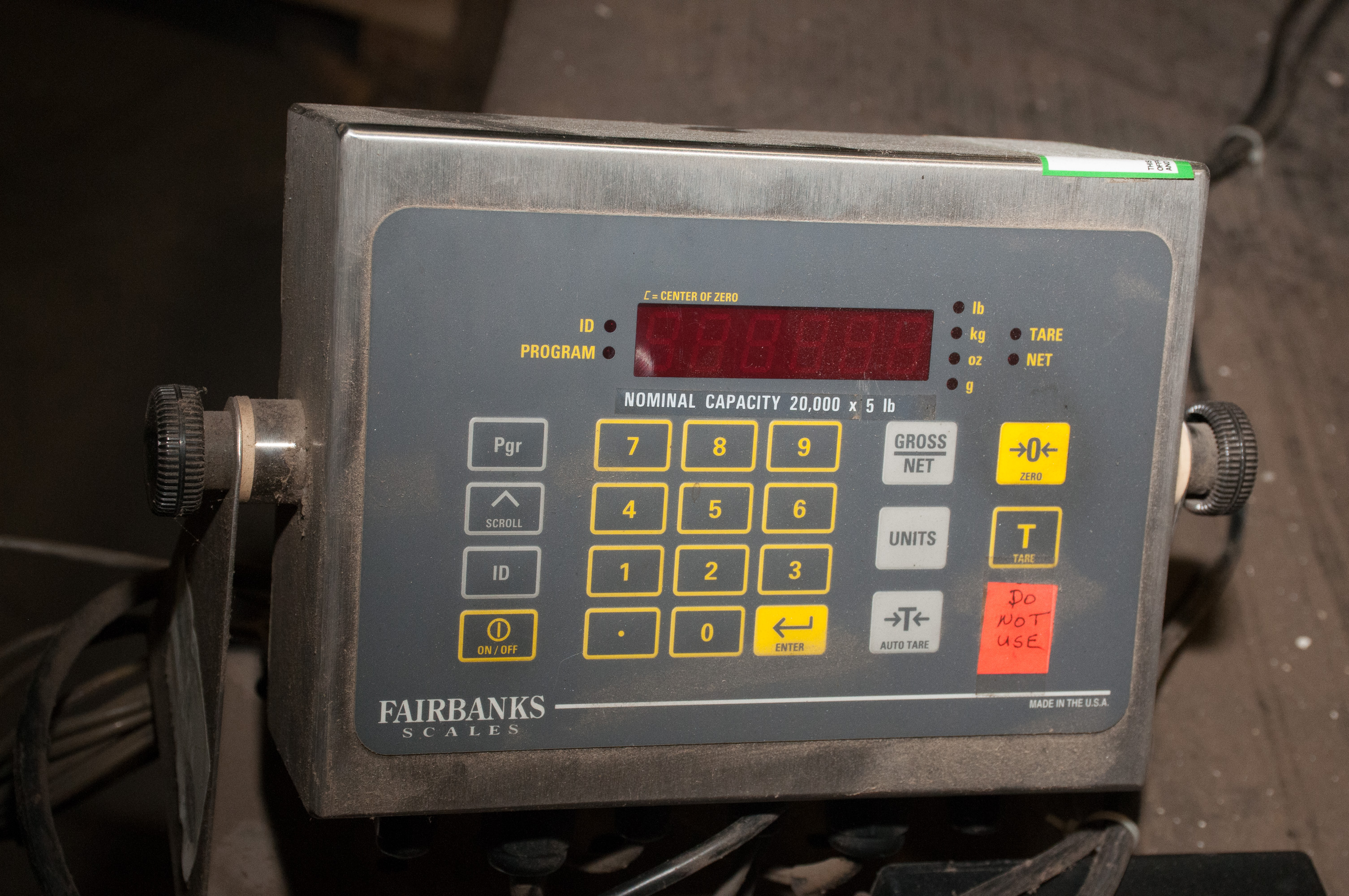 """Scale Table 82 1/2"""" X 107 1/2"""" w/ Fairbanks Readout and Epson Printer, 10,000 lb. Cap. - Image 2 of 5"""