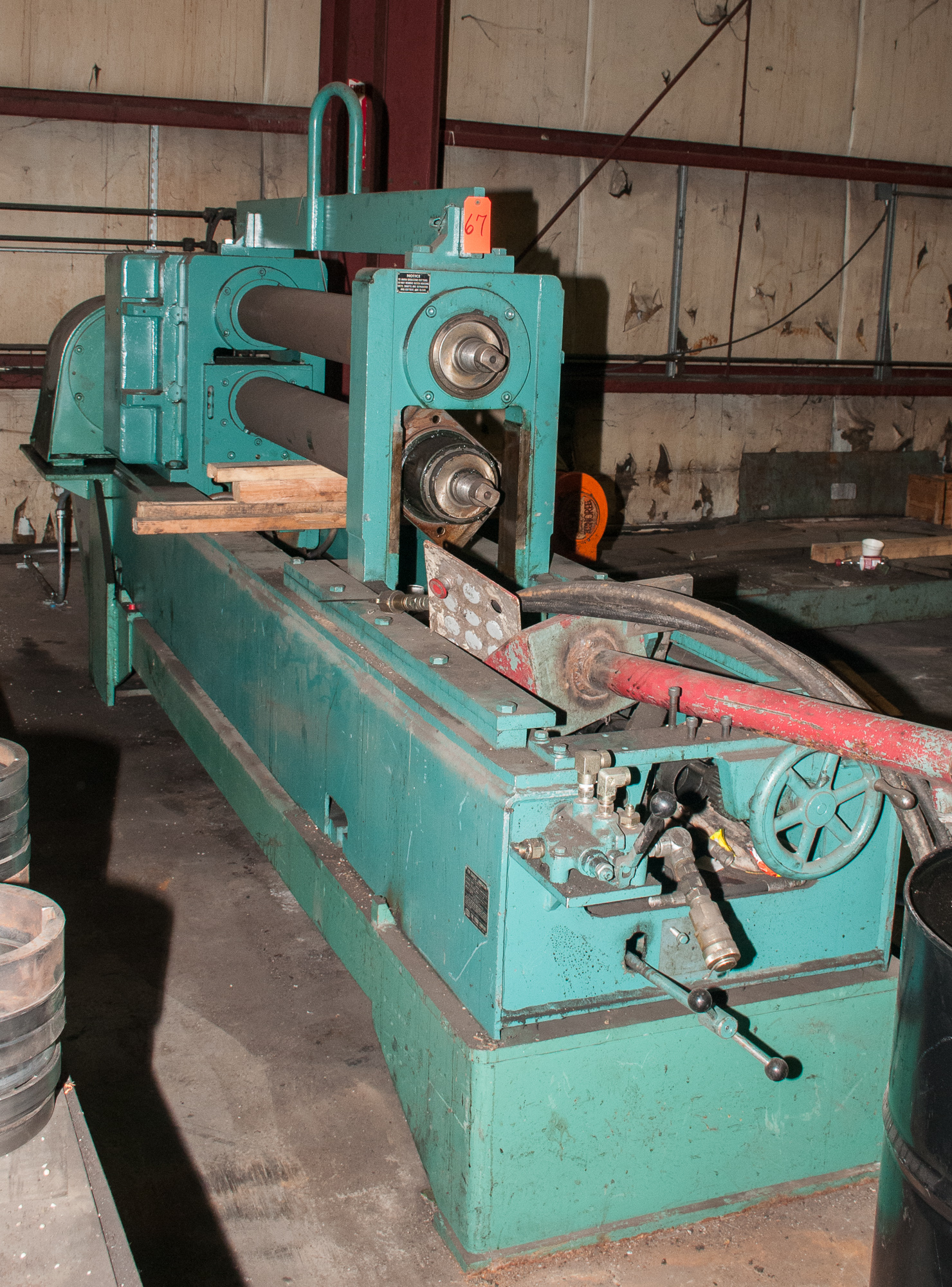 """60"""" x .125"""" 40,000lb. Yoder Slitting Line, New Controls 2019, Consisting of Coil Cart, Yoder Uncoile - Image 25 of 27"""