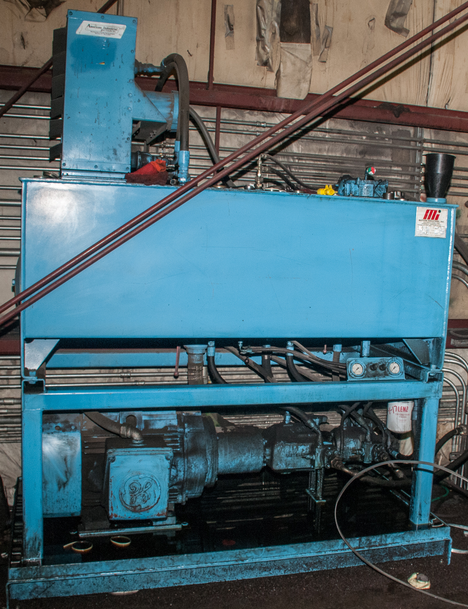 """60"""" x .125"""" 40,000lb. Yoder Slitting Line, New Controls 2019, Consisting of Coil Cart, Yoder Uncoile - Image 12 of 27"""