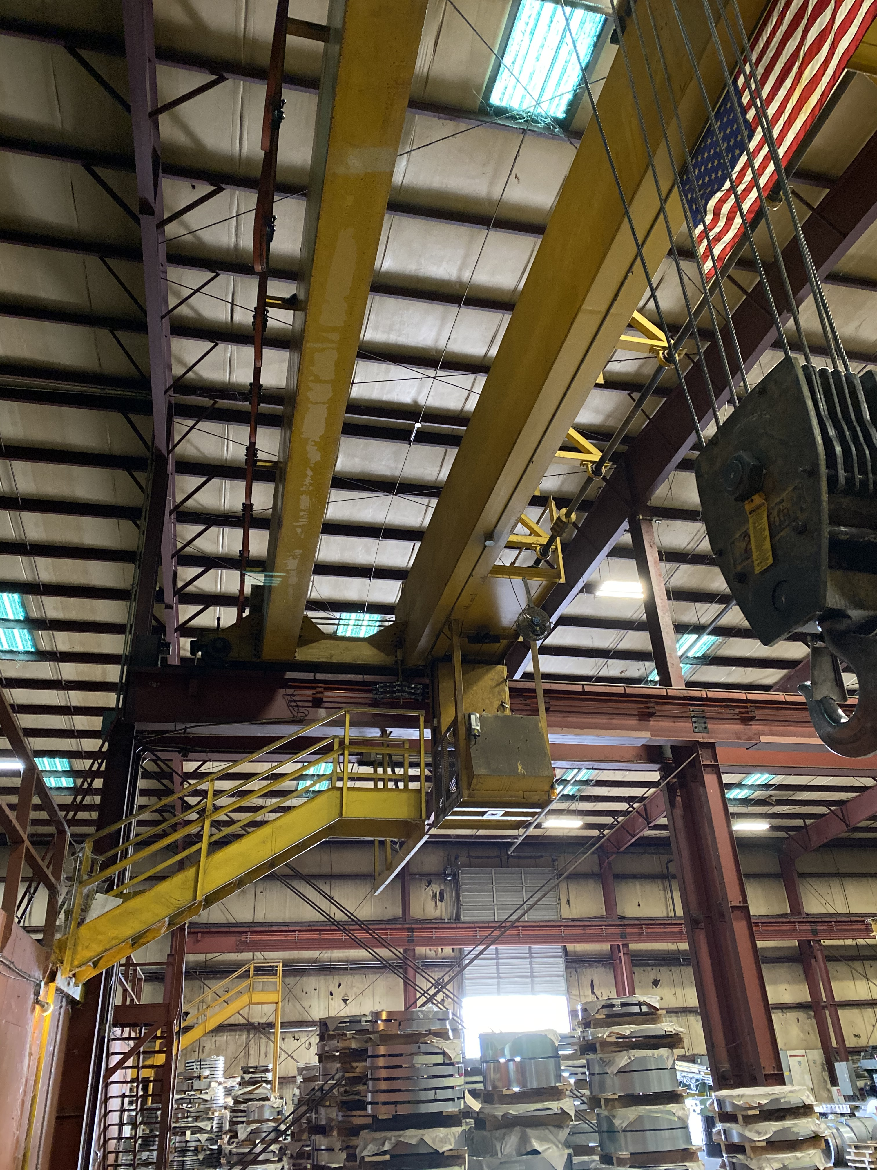 53,000 SQ. FT. Industrial Crane Building,3,000 SQ. FT. - Image 4 of 5