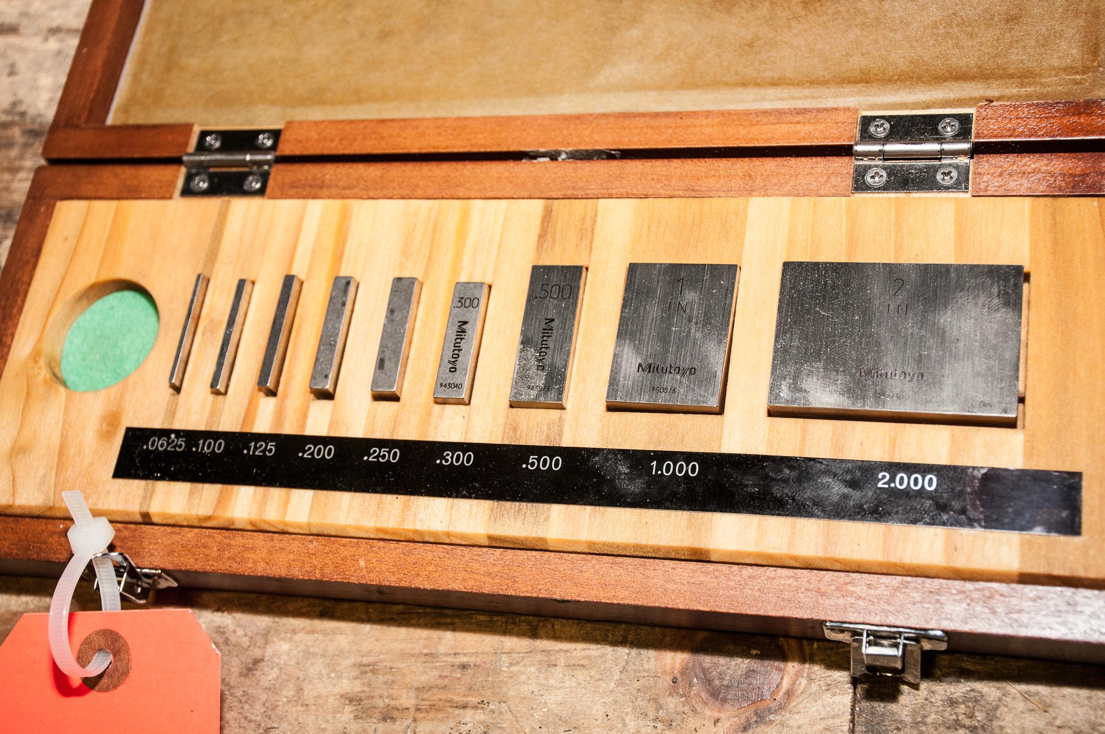 Mitutoyo Guage Block Set 516-935, Grade 3, s/n 951072 - Image 2 of 2