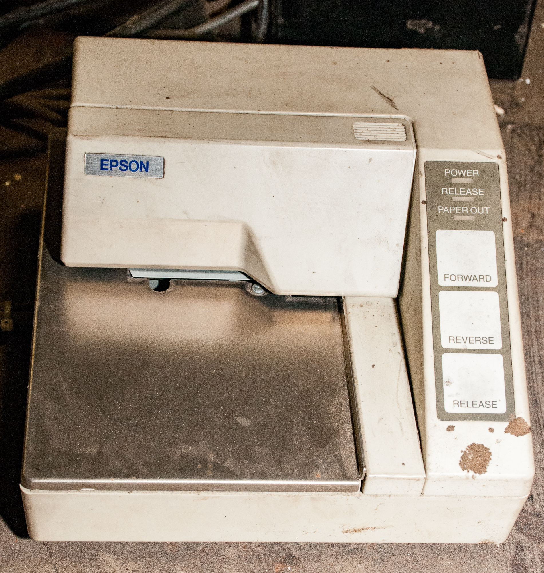 """Scale Table 82 1/2"""" X 107 1/2"""" w/ Fairbanks Readout and Epson Printer, 10,000 lb. Cap. - Image 4 of 5"""
