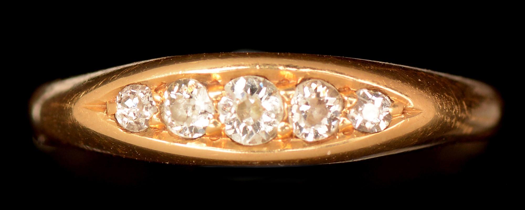 Lot 495 - Diamond ring