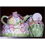 """A quantity of Western House """"Pansy"""" pattern china"""