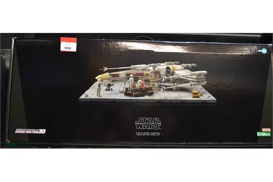 Kotobukiya Sw43 Dia Star Wars Cross Section 3d X Wing Set