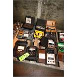 Lot of Assorted Testing Units, Includes (2) Simpson Voltage Testers, (2) Annie Vacuum Analyzers,