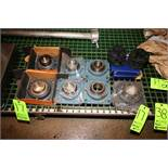 NEW Bearings, Includes 2-NEW Timken Bearings, (5) NEW Other Bearings, with Rubber Bearing Assemblies