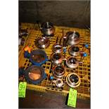 "Lot of Assorted Butterfly Valves, Sizes Include 1""-6"", Includes (2) Hydraulic Type Butterfly Valves"