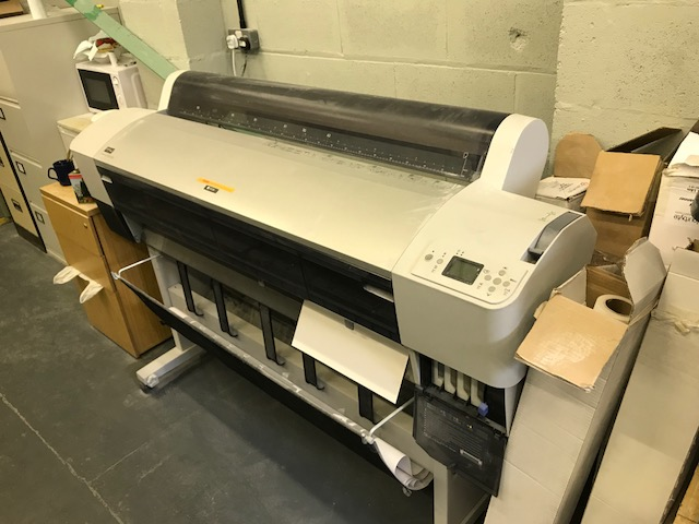 *Epson Stylus Pro 9880 Large Format Printer with Dell PC,OS and Kodak Match Ink Proofing Software
