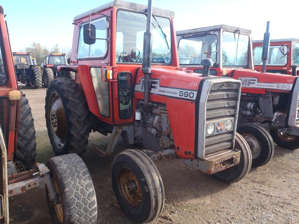 4 Door Tractor : Massey ferguson door cab tractor reg no spv w