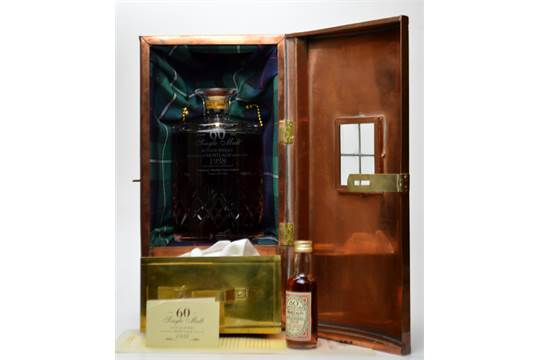 MORTLACH 60 YEAR OLD WHISKY 1938 70CL 40 An Incredibly Rare