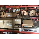 """LOT - (2) PALLETS ASSORTED PARTS, TO INCLUDE: 25' OF 20"""" FLEX DUCT, FLANGES, 2-WAY CHAMBER, 14"""""""
