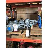 """LOT - (3) ASSORTED GATE VALVES: (1) 4"""" AND (2) 2.5"""""""