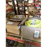"""LOT - ASSORTED PLASTIC BAGS: (1000) 3"""" X 5"""" AND (2000) 6"""" X 9"""", ALSO 3/4"""" JACKHAMMER HOSE"""