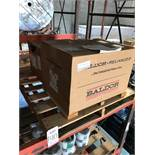 LOT - (2) ASSORTED BALDOR MOTORS: (1) 15 HP AIR OVER 3-PHASE AND (1) 7.5 HP SINGLE PHASE