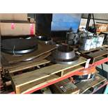 """LOT - (2) PALLETS ASSORTED NUCLEAR PARTS, TO INCLUDE: (2) 14"""" WELD NECK RING FLANGE AND (2) 14"""" SLIP"""