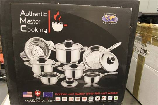 Materline Authentic Master Cooking System Professional 12