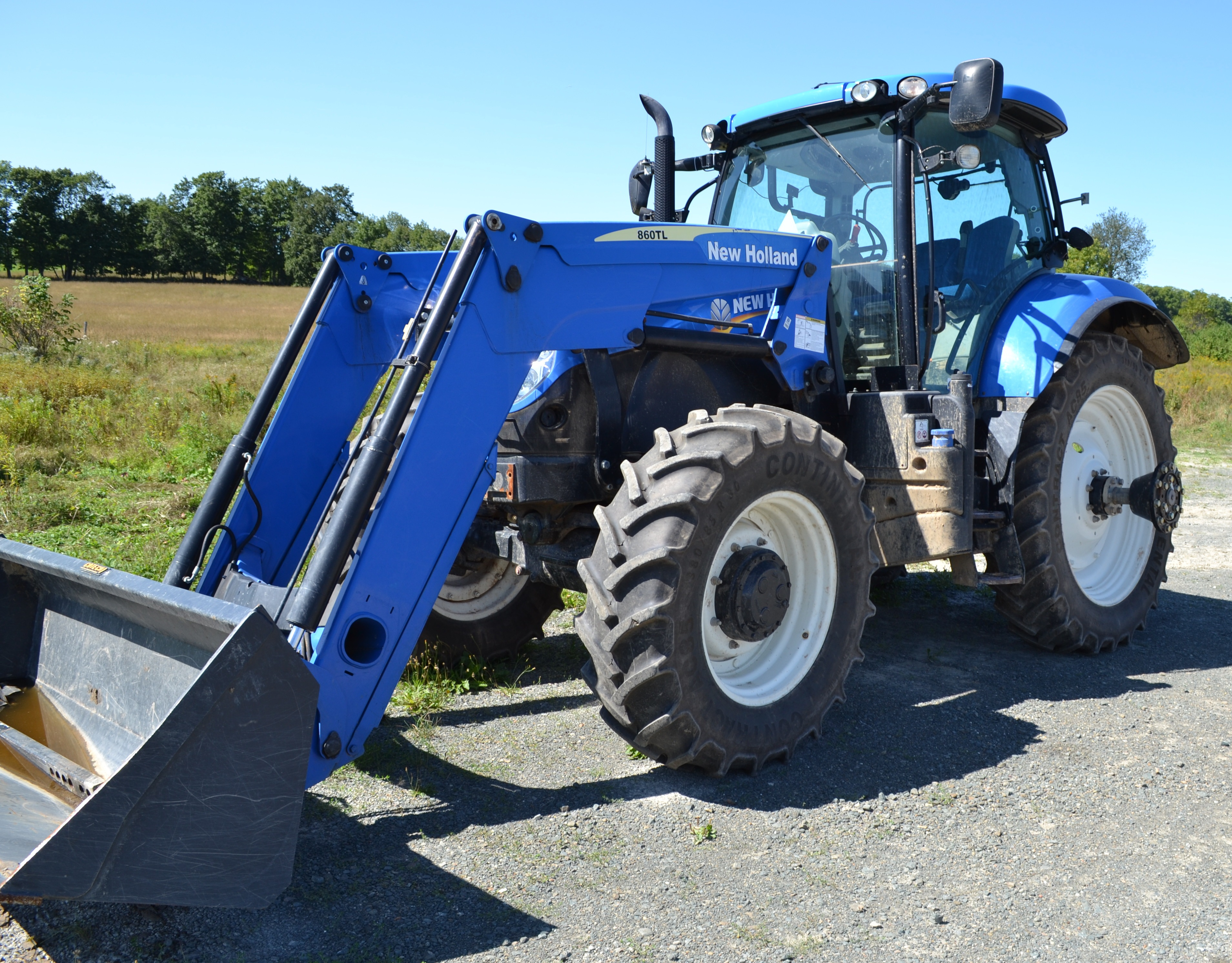 Lot 3 - NEW HOLLAND (2012) T7 200 FRONT END LOADER TRACTOR S/