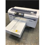 EPSON SURECOLOR F2000 WHITE EDITION DIRECT TO GARMET PRINTER