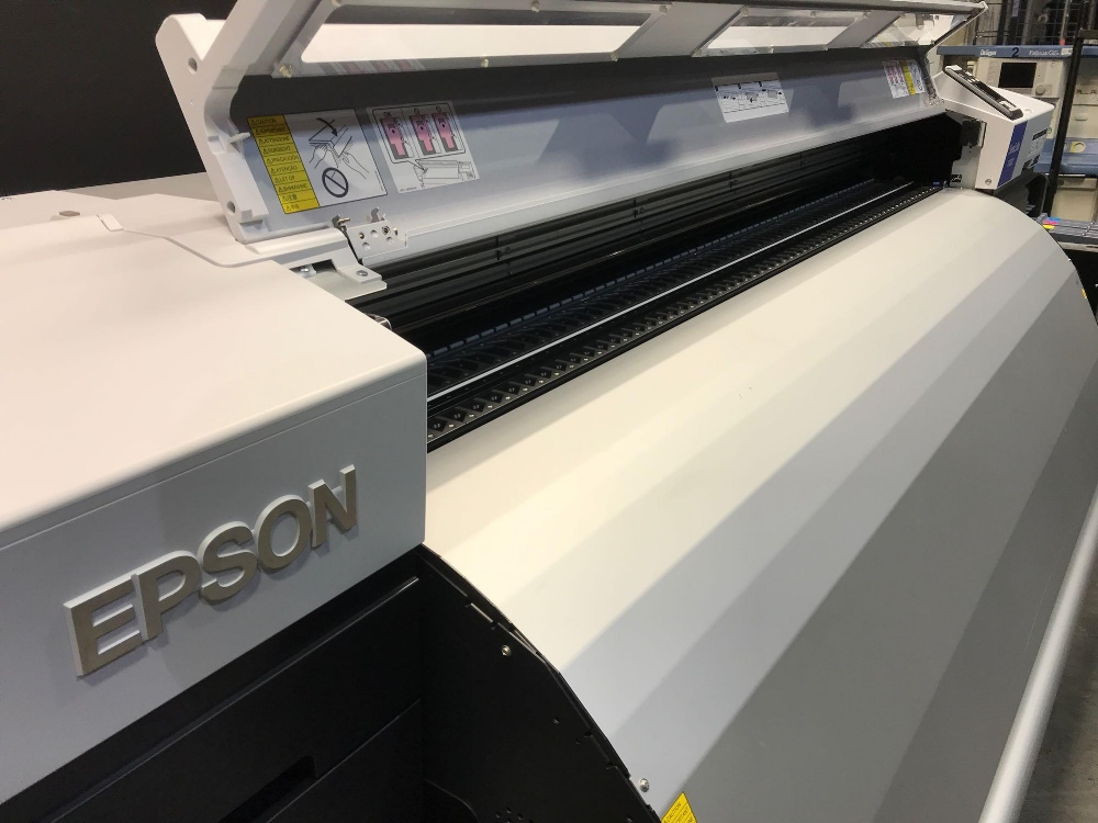 Lot 1 - EPSON SURECOLOR 7200 64 INCH DYE SUBLIMATION PRINTER