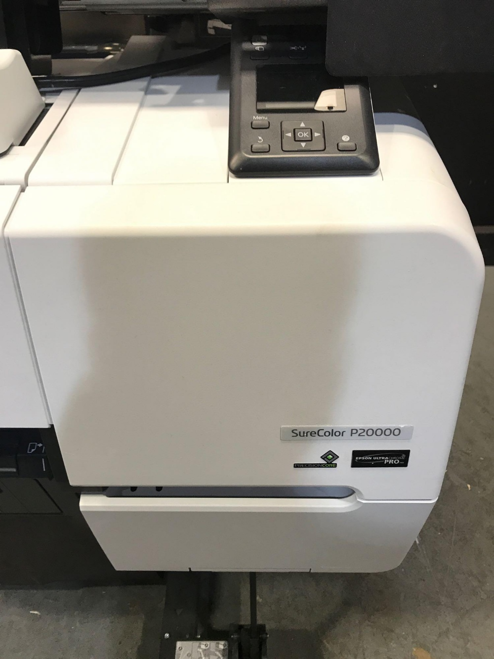 Lot 2 - EPSON SURECOLOR P20000 64 INCH WIDE FORMAT PRINTER