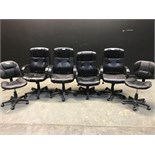 LOT OF DESK CHAIRS