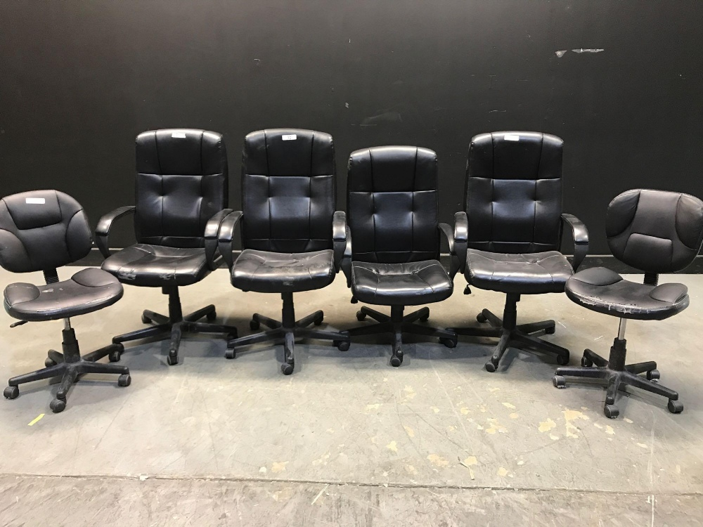 Lot 32 - LOT OF DESK CHAIRS