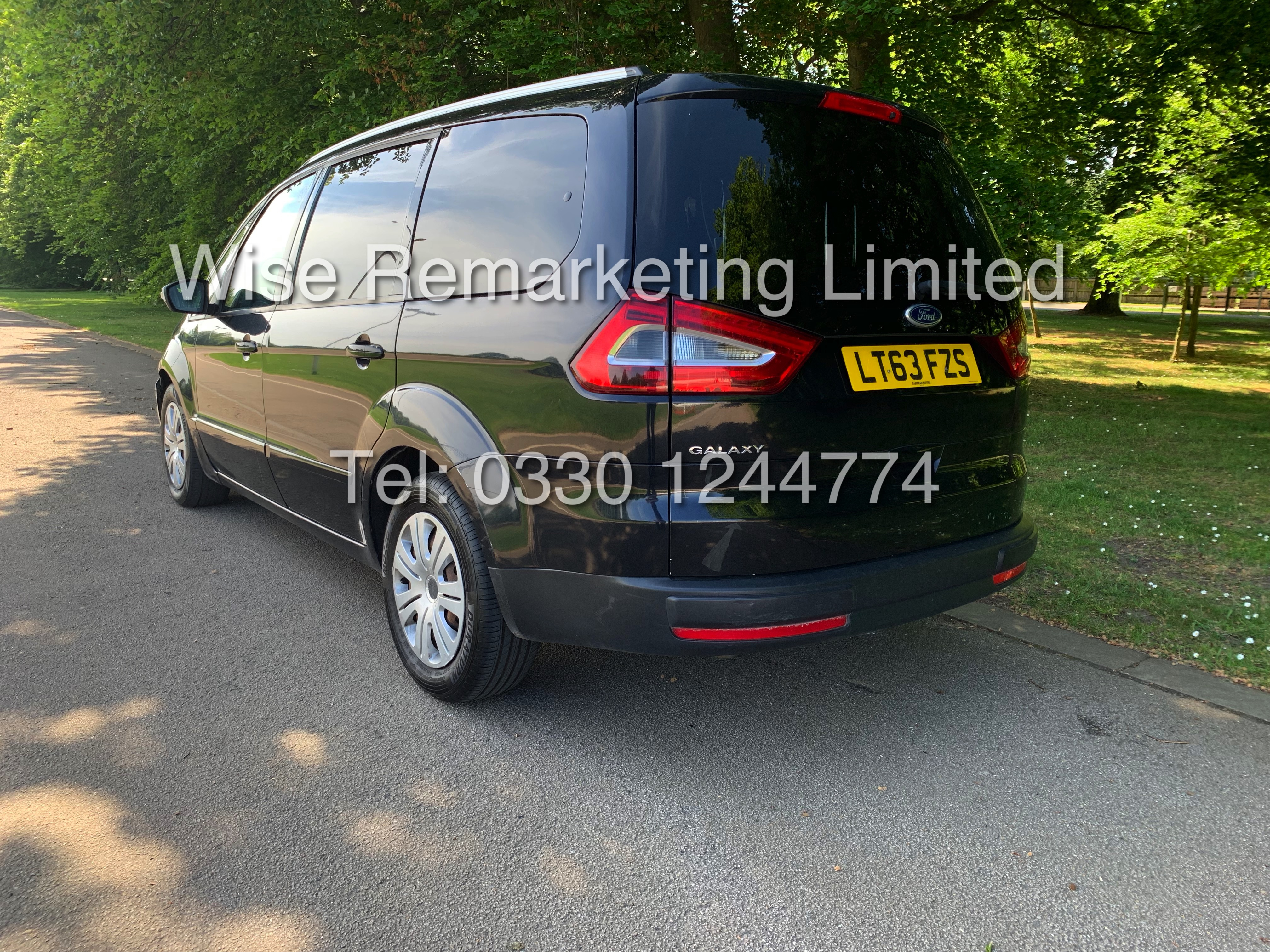 FORD GALAXY ZETEC 2.0L TDCI AUTO 7 SEATER MPV 63 REG *1 OWNER* - Image 3 of 20