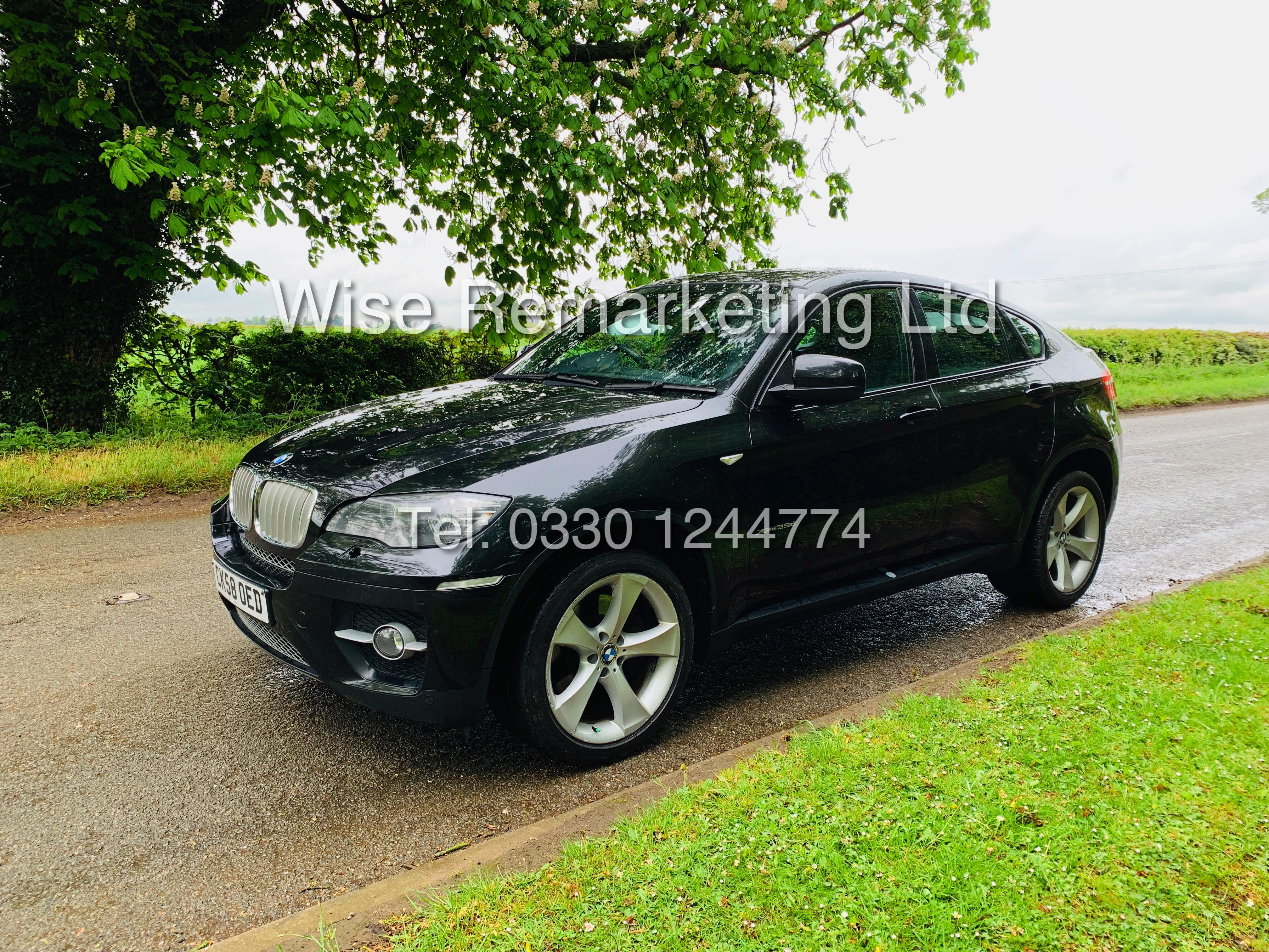 BMW X6 XDRIVE 35D AUTO (2009 SPEC) *1 PREVIOUS OWNER* PARKING AID - SAT NAV - FSH