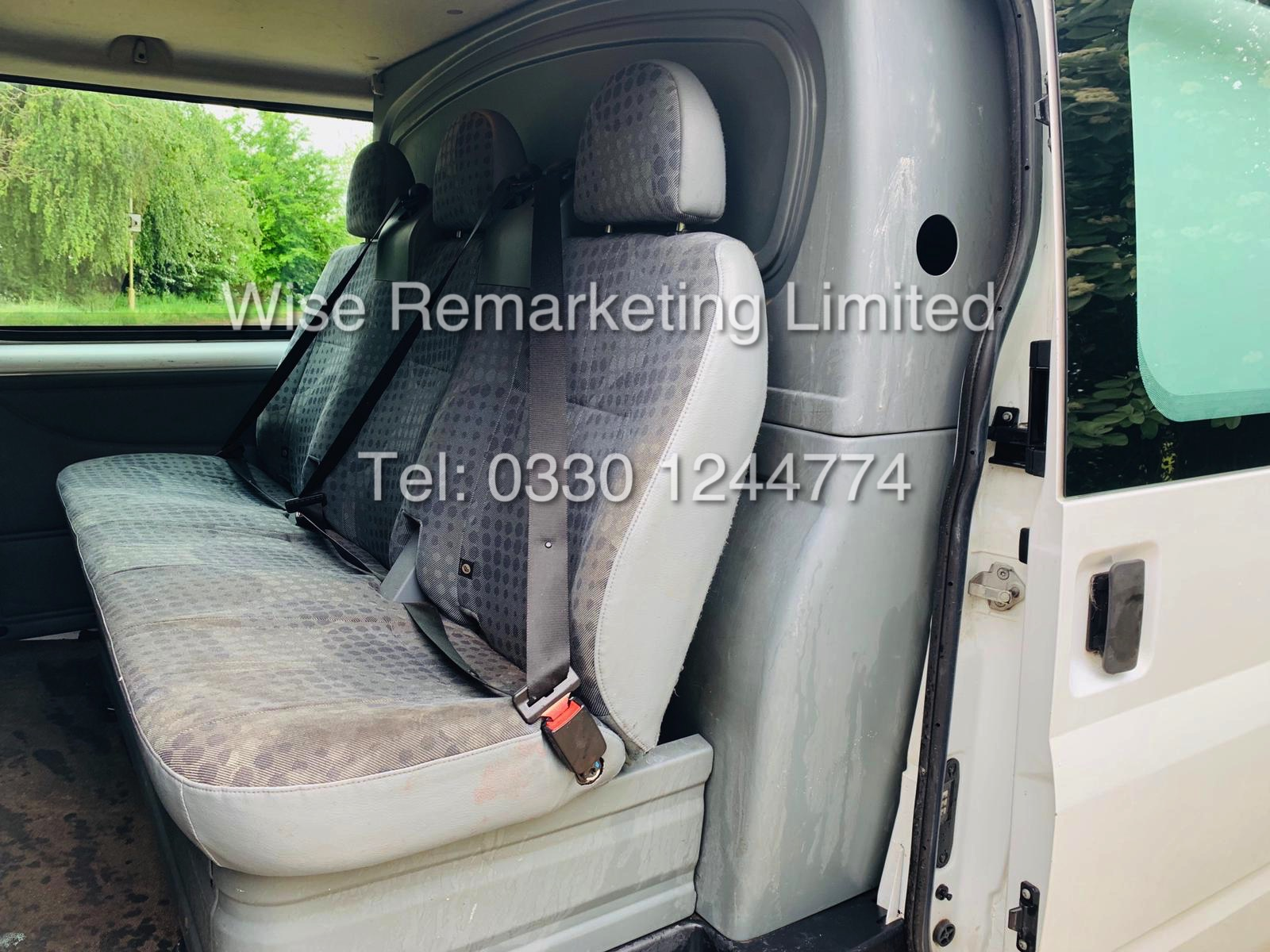 FORD TRANSIT T280 100 2.2 TDCI 6 SEATER KOMBI/CREW VAN 2012 *6 SPEED* - Image 14 of 22