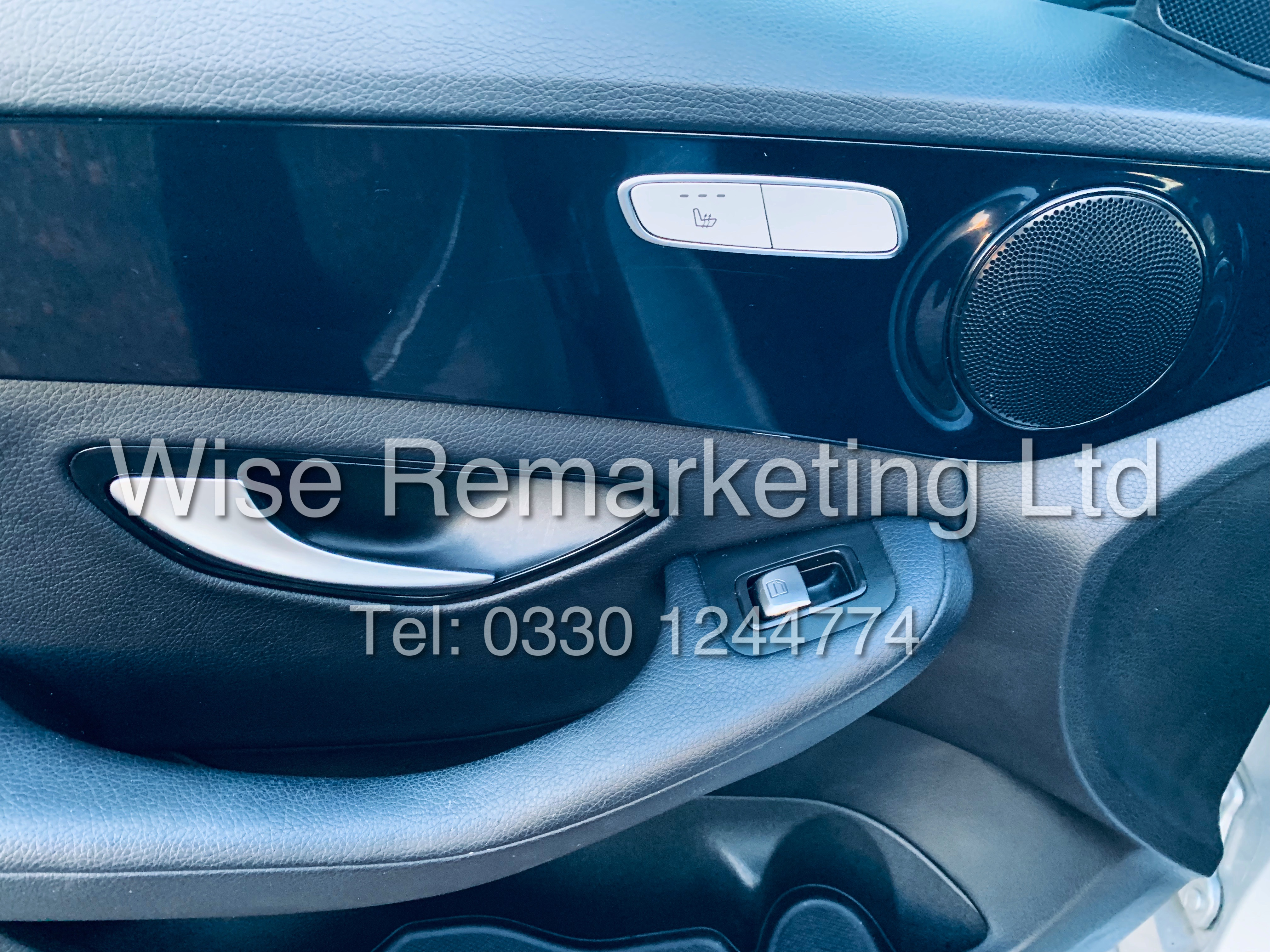 """*** RESERVE MET *** MERCEDES C220D AUTOMATIC """"SE EXECUTIVE"""" SALOON (2016) 1 OWNER / SAT NAV LEATHER - Image 11 of 25"""