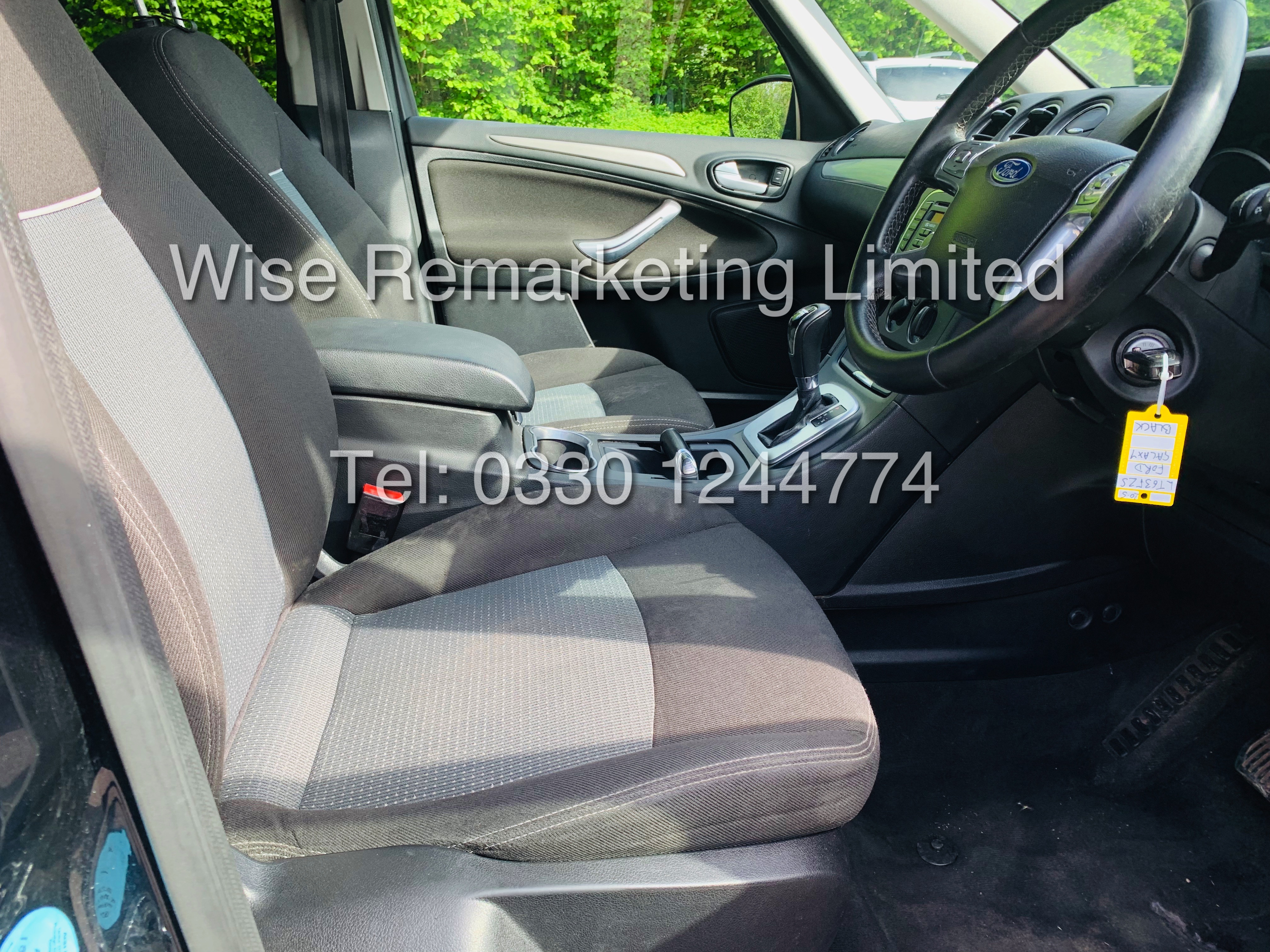 FORD GALAXY ZETEC 2.0L TDCI AUTO 7 SEATER MPV 63 REG *1 OWNER* - Image 9 of 20