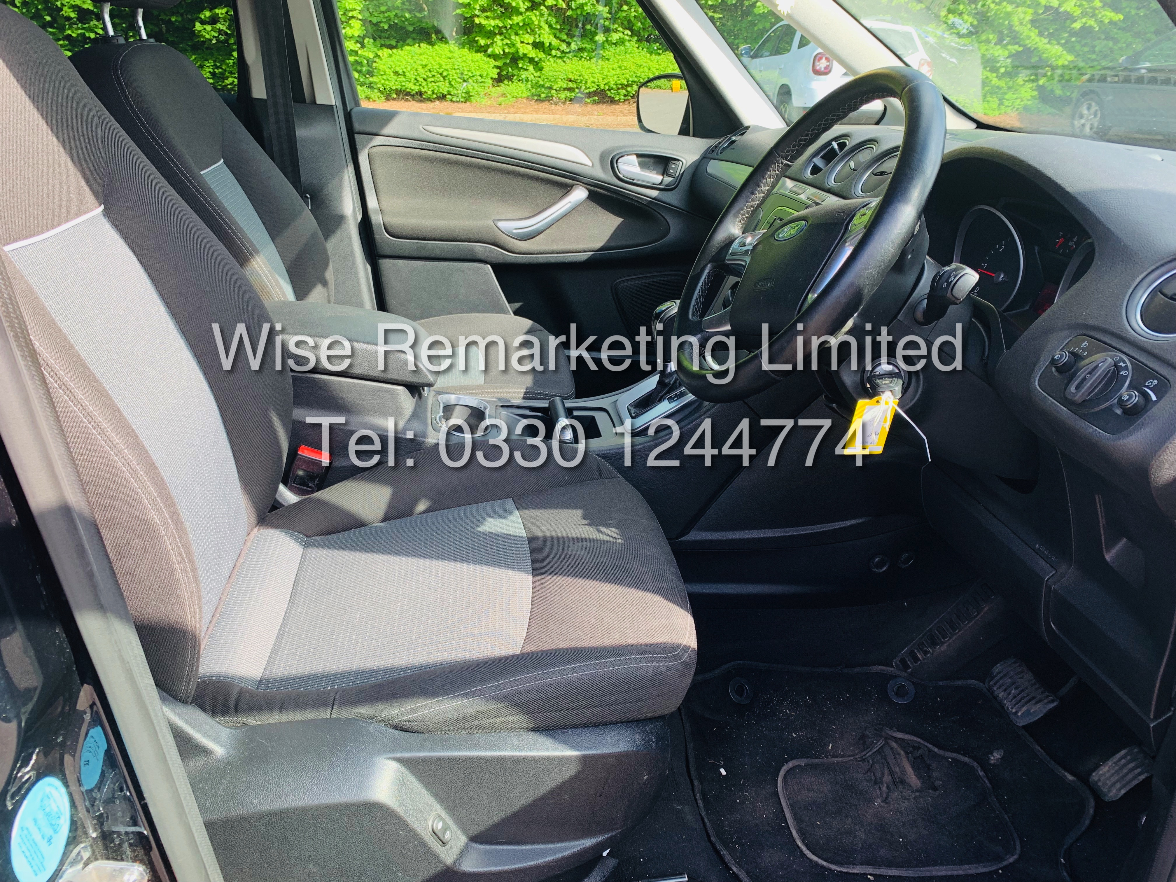 FORD GALAXY ZETEC 2.0L TDCI AUTO 7 SEATER MPV 63 REG *1 OWNER* - Image 8 of 18